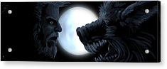 Inner Conflict Acrylic Print by William McDonald
