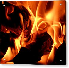 Inner Fire Acrylic Print