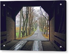 Inside Meems Bottom Bridge Acrylic Print