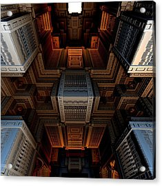 Inside The Box Acrylic Print by Ricky Jarnagin