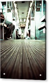 Inside The L At A Low Angle Acrylic Print