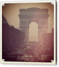 Instagram Photo - L'arc De Triomphe - Paris Acrylic Print