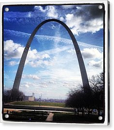 Instagram Photo Acrylic Print by Shawn Wood