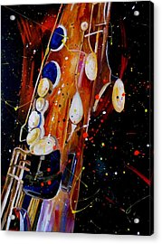Instrument Of Choice Acrylic Print