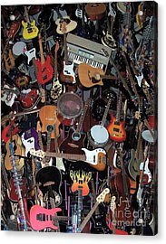 Instruments Acrylic Print by Chalet Roome-Rigdon