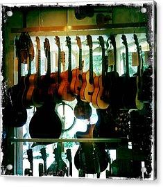 Instruments Acrylic Print