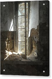 Acrylic Print featuring the photograph Interior Window by Christophe Ennis