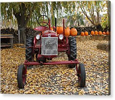 International Harvester Mccormick Farmall Cub Farm Tractor . 7d10305-2 Acrylic Print by Wingsdomain Art and Photography
