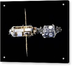 International Space Station In 1998 Acrylic Print by Everett