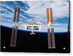International Space Station In 2007 Acrylic Print by Everett