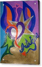 Intigue Acrylic Print by Jemma Starseed