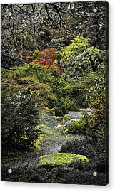 Intimate Garden Acrylic Print by Ken Stanback
