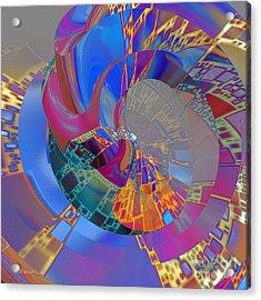 Into The Inner World Acrylic Print by Deborah Benoit