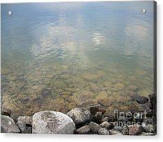 Into The Lake Acrylic Print