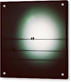 Into The Light - Instagram Photo Acrylic Print by Marianna Mills