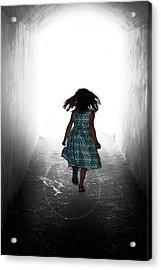 Into The Light Acrylic Print by Matt Dobson