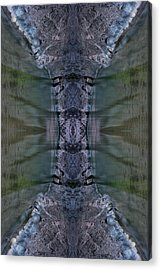 Into The Narrows Vertical Sample Acrylic Print by Ed Kelley