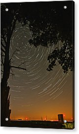 Into The Night Acrylic Print by Jim Finch