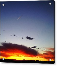 Acrylic Print featuring the photograph Into The Sun by Paul Cutright