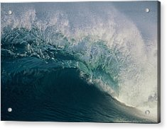 Intricacy In A Wave's Lip Acrylic Print