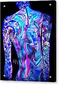 Intricate Woman Acrylic Print