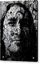 Intrigue Acrylic Print by Christopher Gaston