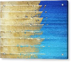 Inundation Acrylic Print by David Rearwin