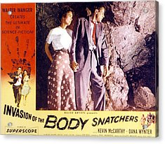 Invasion Of The Body Snatchers, Dana Acrylic Print by Everett