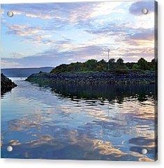 Acrylic Print featuring the photograph Inverkip Marina by Lynn Bolt