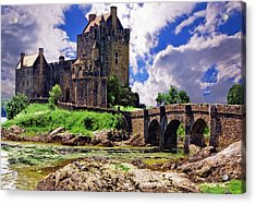 Inverlochy Castle Acrylic Print by Wendy White