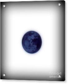 Inverted Moon Acrylic Print by Elizabeth Hernandez