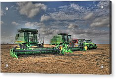 Iowa Soybean Pickers Acrylic Print