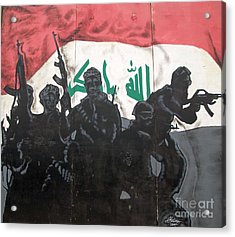 Iraqi Special Forces Acrylic Print by Unknown