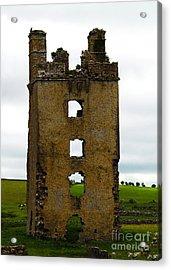 Ireland- Castle Ruins II Acrylic Print