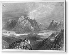 Ireland: Lough Inagh, C1840 Acrylic Print by Granger