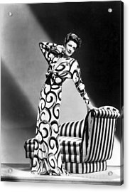 Irene Dunne, Universal Pictures Acrylic Print by Everett