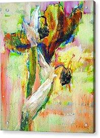 Iris 13 Acrylic Print by Petro Bevza