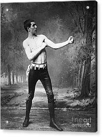 Irish Boxer, 1890s Acrylic Print by Granger