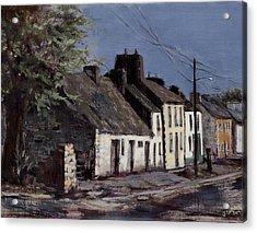 Irish Cottages Acrylic Print