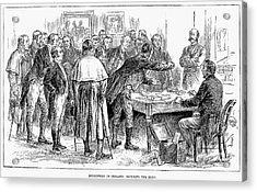 Irish Land League, 1886 Acrylic Print by Granger
