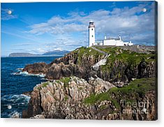 Irish Lighthouse Acrylic Print by Andrew  Michael