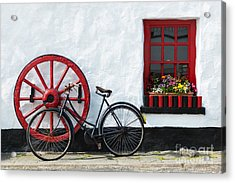 Irish Pub Acrylic Print by Andrew  Michael