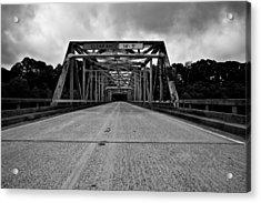 Iron Bridge Mississippi Acrylic Print by Bryan Burch