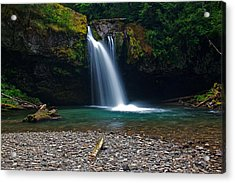 Iron Creek Falls 2 Acrylic Print by Marcus Angeline