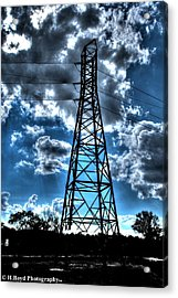 Iron In The Clouds Acrylic Print by Heather  Boyd