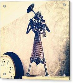Iron Musician Acrylic Print