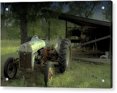 Iron Workhorse Acrylic Print by Tony Grider
