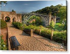 Ironbridge England Acrylic Print