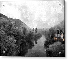 Ironbridge Winter Acrylic Print