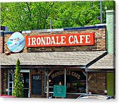 Irondale Cafe  Acrylic Print